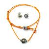 Necklace & Earrings Sun - Fairtrade
