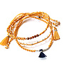 Armband Mosterdgeel - Prachtig & Fairtrade