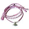 Armband Lavendel - Prachtig & Fairtrade