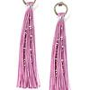 Tassel Earrings Lavender
