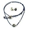 Necklace & Earrings Earth - Pretty & Fairtrade