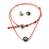 Necklace & Earrings Animals - Fairtrade