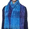 Sjaal Hemelsblauw  - Bamboe Chenille