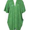 Poncho Green - Natural Dyes