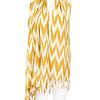 Shawl Yellow Gold  - Natural Dyes