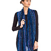 Scarf Blue - Bamboo Chenille