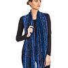 Sjaal Blauw - Bamboe Chenille