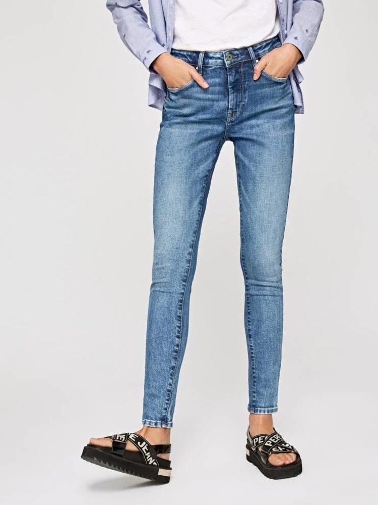 PEPE JEANS - Regent light blue high waist
