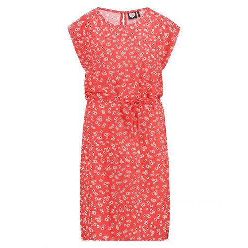 CATWALK JUNKIE CATWALK JUNKIE - Coral florals jurk