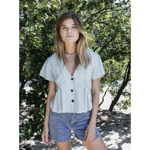 THINGS I LIKE THINGS I LOVE THINGS I LIKE THINGS I LOVE - Winnie blouse mint