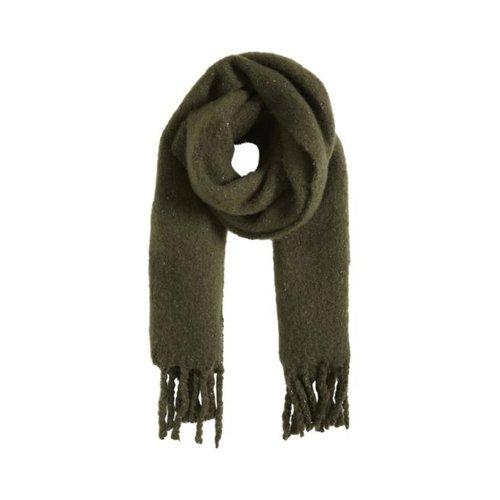 ICHI ICHI - Iaemmelie sjaal groen