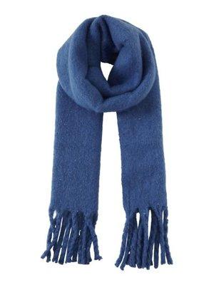 ICHI ICHI - Iaemmelie sjaal blauw
