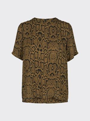 MINIMUM MINIMUM - Esma blouse bruin