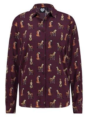 CATWALK JUNKIE CATWALK JUNKIE - night cheetah blouse