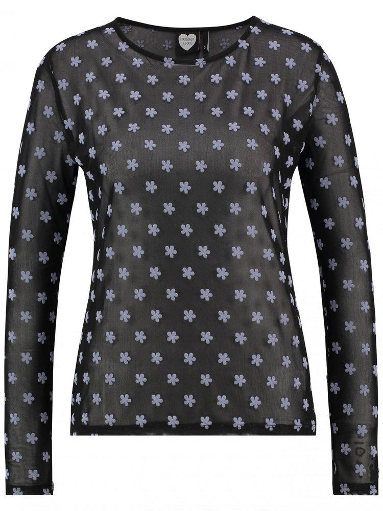 CATWALK JUNKIE CATWALK JUNKIE - Soft flowers shirt