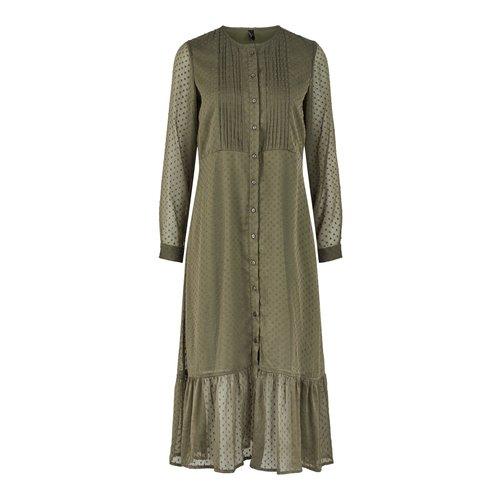 Y.A.S Y.A.S - Yasella long dress groen
