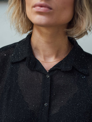 THINGS I LIKE THINGS I LOVE THINGS I LIKE THINGS I LOVE - Amber mesh top