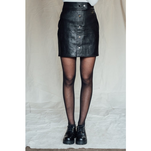 THINGS I LIKE THINGS I LOVE THINGS I LIKE THINGS I LOVE - Lina leather skirt