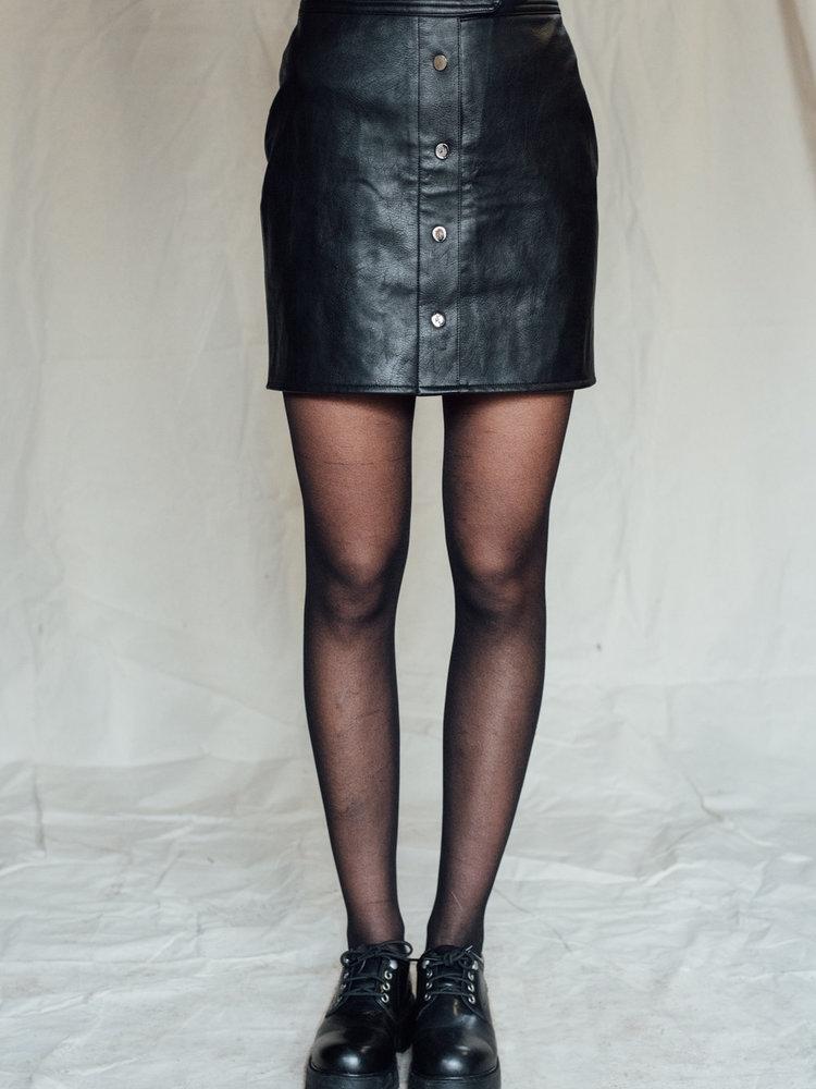 THINGS I LIKE THINGS I LOVE THINGS I LIKE THINGS I LOVE - Lina leather skirt