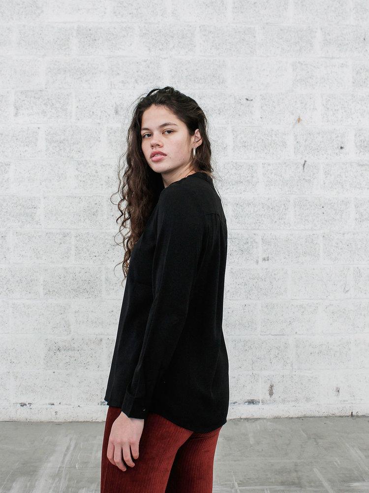 THINGS I LIKE THINGS I LOVE THINGS I LIKE THINGS I LOVE - Liv lace blouse zwart