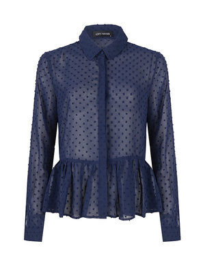 LOFTY MANNER LOFTY MANNER - Gita blouse blauw