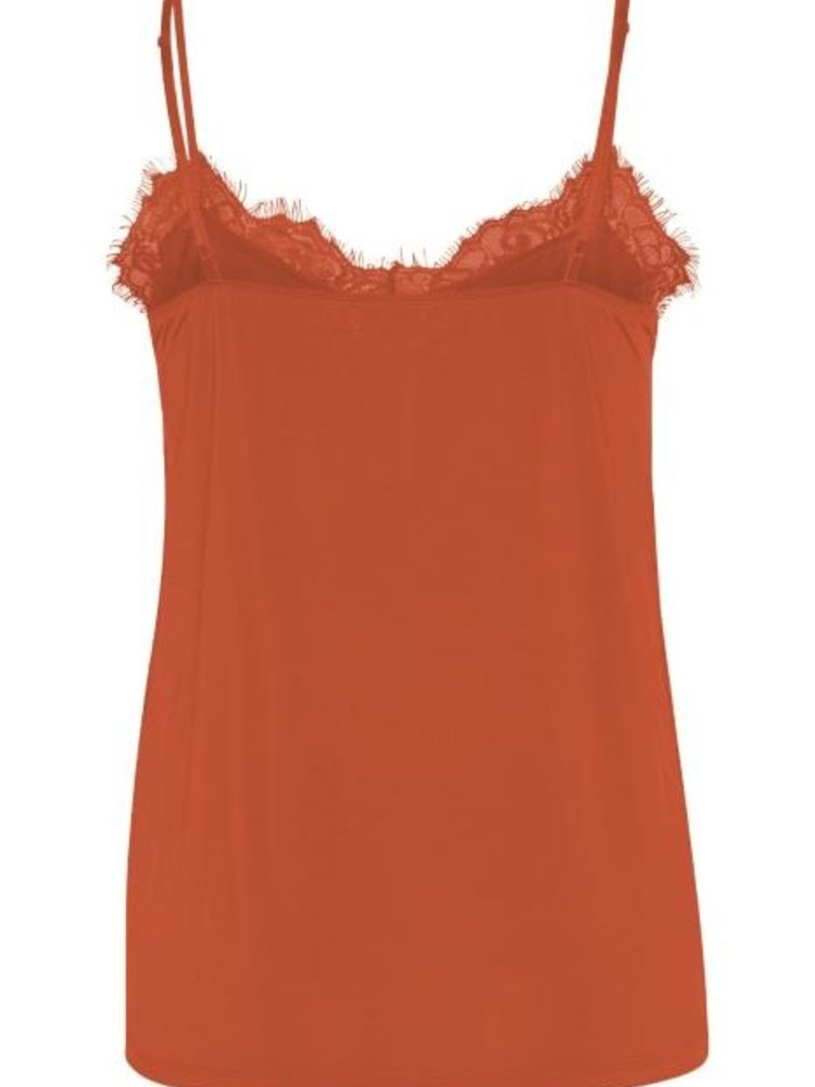 SOAKED IN LUXURY - Clara top oranje