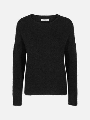Moss Copenhagen MSCH - Femme mohair trui zwart