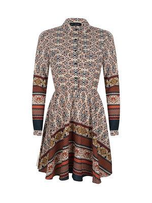 LOFTY MANNER LOFTY MANNER - Jamila peach jurk