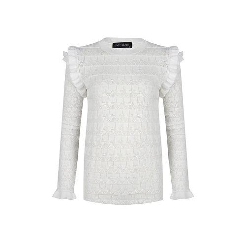 LOFTY MANNER LOFTY MANNER - Regina sweater wit