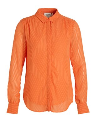ANOTHER LABEL ANOTHER LABEL - Maple blouse oranje