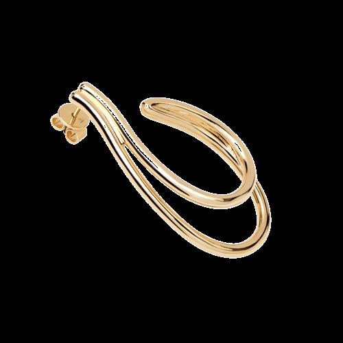 PDPAOLA PDPAOLA - Koko gold earrings