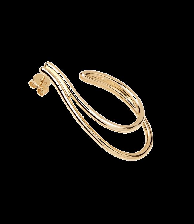 PDPAOLA - Koko gold earrings