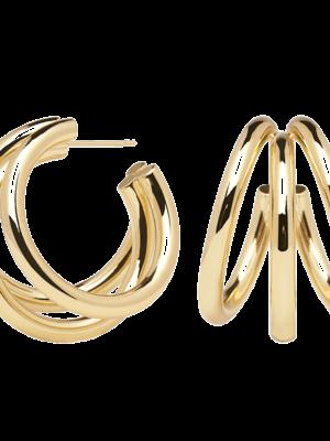 PDPOALA - True gold earrings