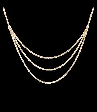PDPAOLA PDPAOLA - Nia gold ketting