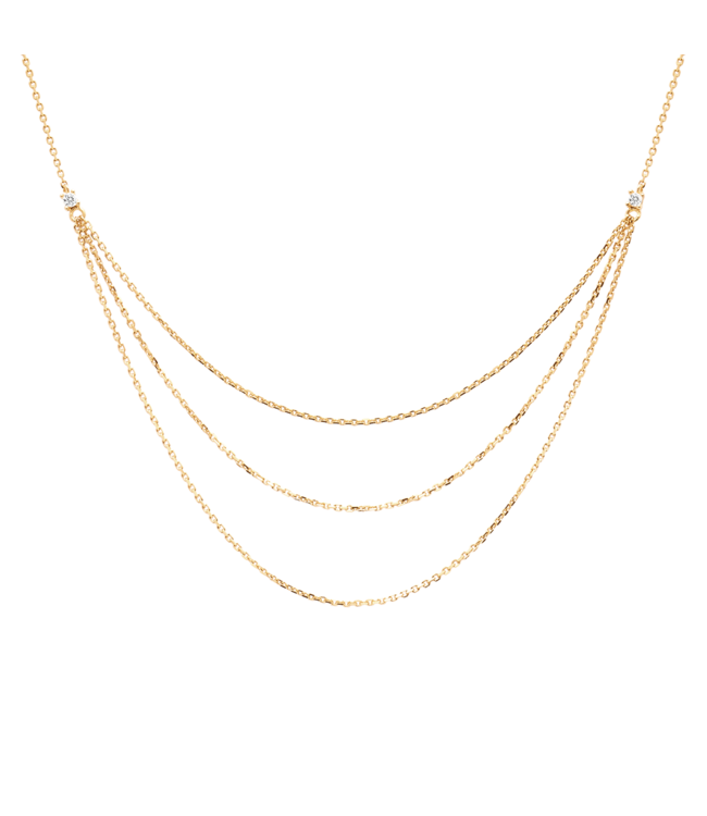 PDPAOLA - Nia gold ketting