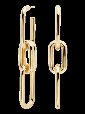 PDPAOLA PDPAOLA - Muze gold earrings