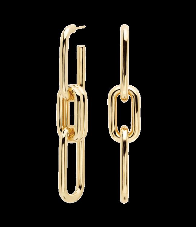 PDPAOLA - Muze gold earrings
