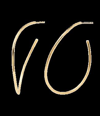 PDPAOLA PDPAOLA - Niko gold earrings