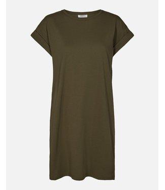 Moss Copenhagen MSCH - Alvidera addi jurk groen