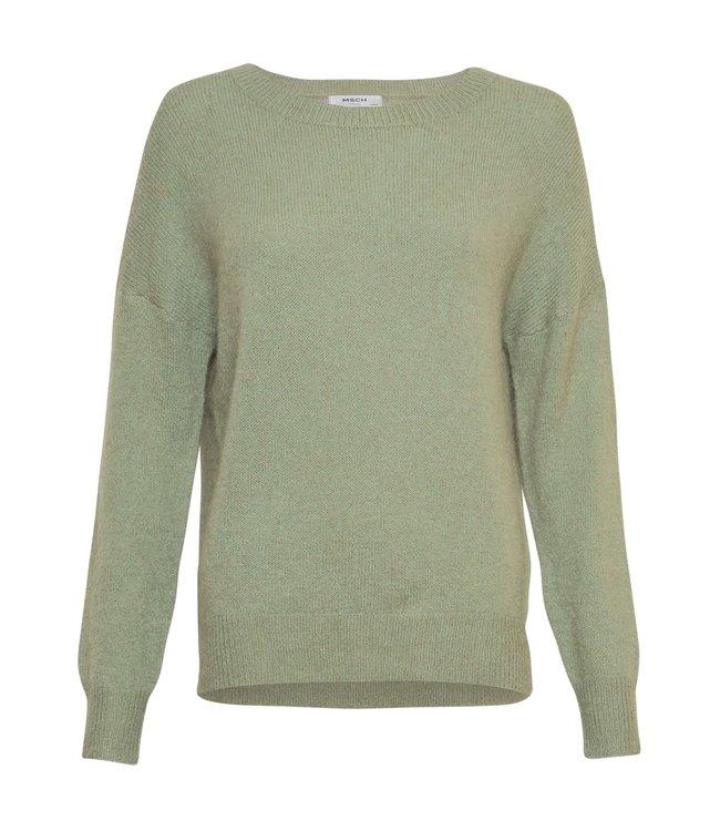 MSCH - Femme Alpaca O Pullover sage