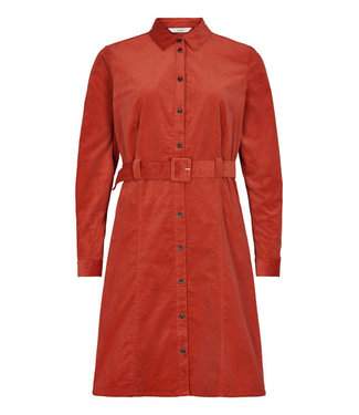 NUMPH NUMPH - Numaurya jurk rood