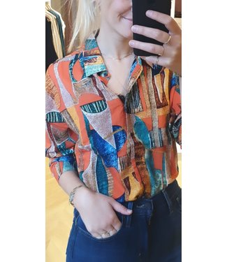 24COLOURS 24COLOURS - multicolour blouse