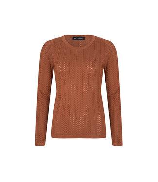 LOFTY MANNER LOFTY MANNER - Ayla sweater bruin