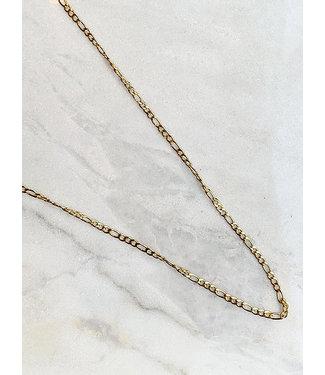 Rocky Rosa ROCKY ROSA - Long Vintage necklace goud