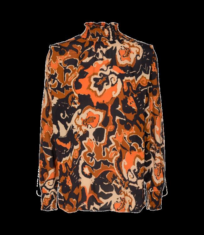 FREEQUENT - Alberte blouse jaffa orange