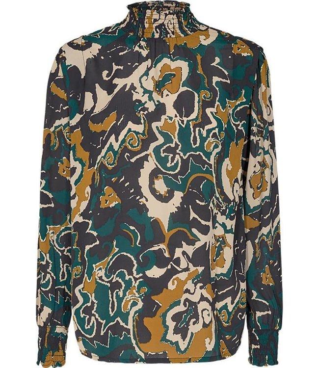 FREEQUENT - Alberte blouse pond mix