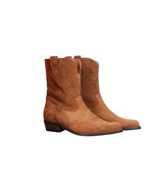 Dwars DWRS - Toscane suede cowboy boots