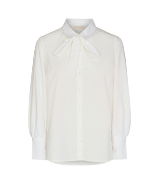 FREEQUENT FREEQUENT - Flynn shirt bow offwhite