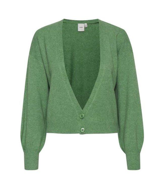 ICHI - Ihalpa cardigan amazon green