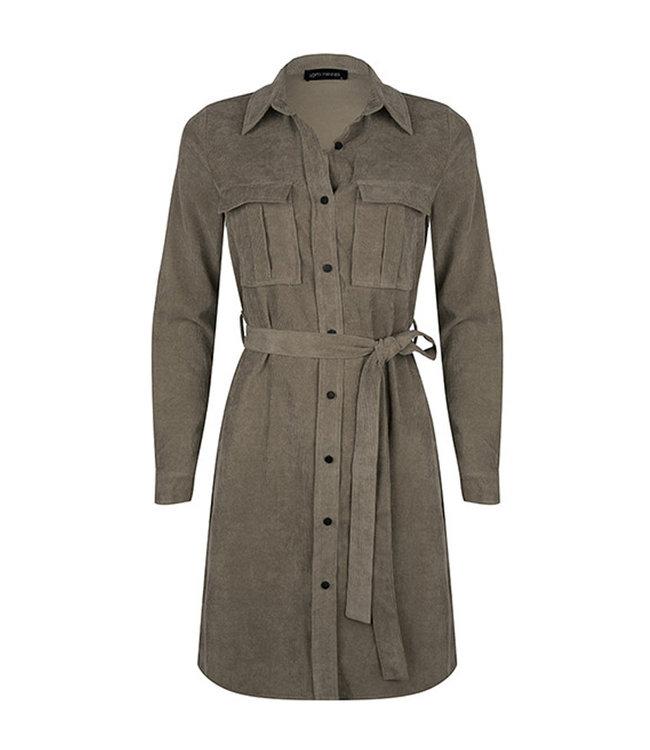 LOFTY MANNER - Adrienne jurk groen